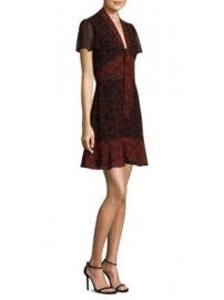 MICHAEL MICHAEL KORS - Star Mix A-Line Dress at Saks Fifth Avenue