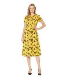 MICHAEL Michael Kors Botanical Short Sleeve Dress at Zappos
