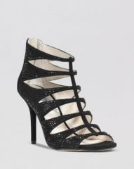 MICHAEL Michael Kors Caged Evening Sandals - Mavis High Heel at Bloomingdales