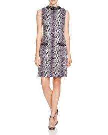 MICHAEL Michael Kors Embellished Snake Print Dress at Bloomingdales