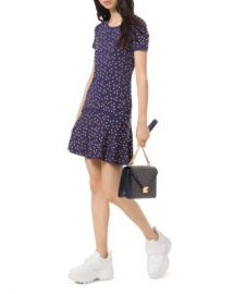 MICHAEL Michael Kors Heart Studded Mini Shift Dress Women - Bloomingdale s at Bloomingdales