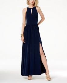 MICHAEL Michael Kors Keyhole Maxi Dress at Macys