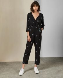 MIDNIGHT SUN JUMPSUIT at Ted Baker
