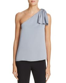 MILLY Cindy One-Shoulder Top at Bloomingdales