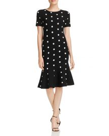MILLY Polka-Dot Knit Mermaid Dress  at Bloomingdales