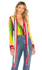 MILLY Nia Bow Top in Rainbow Multi from Revolve com at Revolve