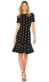MILLY Polka Dot Mermaid Dress in Black  amp  White from Revolve com at Revolve