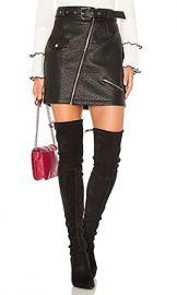 MINKPINK Attitude Biker Skirt in Black from Revolve com at Revolve