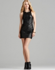 MINKPINK Dress - Faux Leather Shift at Bloomingdales