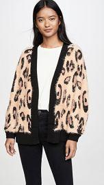 MINKPINK Fluffy Leopard Cardigan at Shopbop
