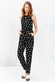 MINKPINK Tiger Print Jumpsuit at Urban Outfitters
