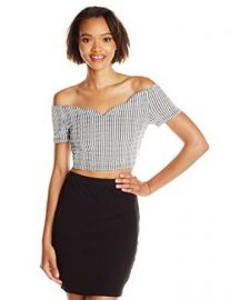 MINKPINK Womenand39s Sweetheart Crop Top at Amazon