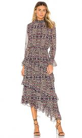 MISA Los Angeles Rania Dress in Mixed Ditsy Floral from Revolve com at Revolve