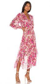 MISA Los Angeles Samantha Dress in Pink Floral from Revolve com at Revolve