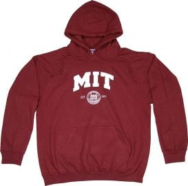 MIT Hooded Sweatshirt by New York Fashion Police at Amazon