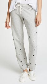 MONROW Stardust Flocking Sweatpants at Shopbop