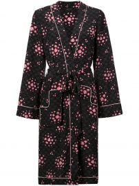 MORGAN LANE OPHELIA ROBE - BLACK at Farfetch