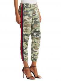 MOTHER - Misfit Twill Camo Pants at Saks Fifth Avenue