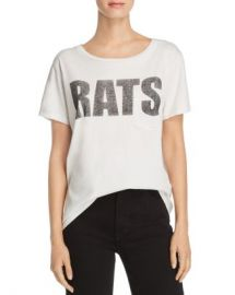 MOTHER  The Itty Bitty Goodie Tee Women - Bloomingdale s at Bloomingdales