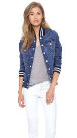 MOTHER Letterman Bully Jacket at Shopbop