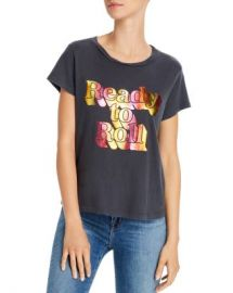 MOTHER The Boxy Goodie Goodie Foil Graphic Tee Women - Bloomingdale s at Bloomingdales