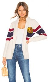 MOTHER The Fisherman Cardigan in Out Of Line from Revolve com at Revolve