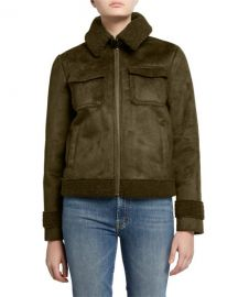 MOTHER The Four Corners Bomber Jacket at Neiman Marcus