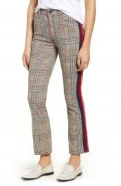 MOTHER The Insider Plaid Ankle Pants   Nordstrom at Nordstrom