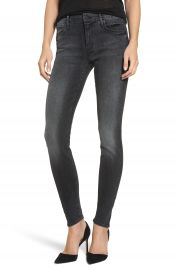 MOTHER The Looker Mid Rise Skinny Jeans  Night Hawk    Nordstrom at Nordstrom