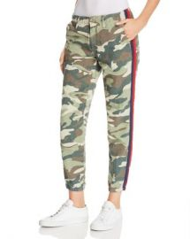 MOTHER The Misfit Side-Stripe Camo Pants  Women - Bloomingdale s at Bloomingdales