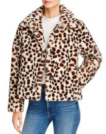 MOTHER The Ride-A-Long Faux Fur Jacket  Women - Bloomingdale s at Bloomingdales