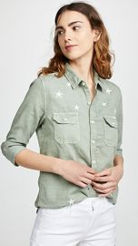MOTHER The Trooper Blouse at Shopbop
