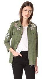 MOTHER Top Brass Fray Jacket at Shopbop