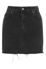 MOTO Denim Mini Skirt at Topshop