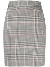 MSGM Houndstooth Mini Skirt at Farfetch