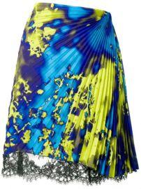 MSGM Micro Pleated Skirt - Farfetch at Farfetch