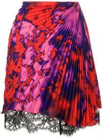 MSGM Pleated Skirt - Farfetch at Farfetch