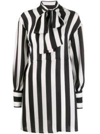 MSGM Striped Shirt Dress - Farfetch at Farfetch