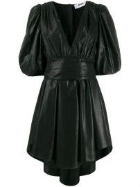 MSGM puff-sleeve Mini Dress - Farfetch at Farfetch