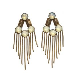 Mabel Earrings  at LionetteNY