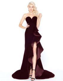Mac Duggal - 66517M Ruffle Sweetheart Sheath Dress at Amazon