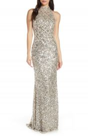 Mac Duggal Scallop Pattern Sequin Gown   Nordstrom at Nordstrom