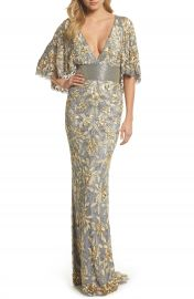 Mac Duggal Sequin  amp  Bead Embellished Gown   Nordstrom at Nordstrom