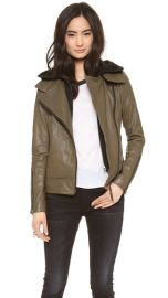 Mackage Kiera Leather Jacket at Shopbop