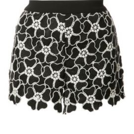 Macrame Floral Shorts by Alice + Olivia at Alice + Olivia