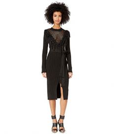 Macrame Knit Dress by Yigal Azrouel at Zappos Luxury