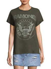 MadeWorn - The Ramones Glitter Tee at Saks Fifth Avenue