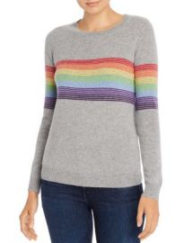 Madeleine Thompson Humbert Rainbow-Striped Lightweight Cashmere Sweater Women - Bloomingdale s at Bloomingdales
