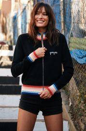 Madeleine Thompson X Sg Stripe Knit Jacket at Spiritual Gangster