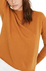 Madewell Mock Neck Cashmere Sweater   Nordstrom at Nordstrom